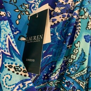 Ralph Lauren tropical color dress brand new size 6